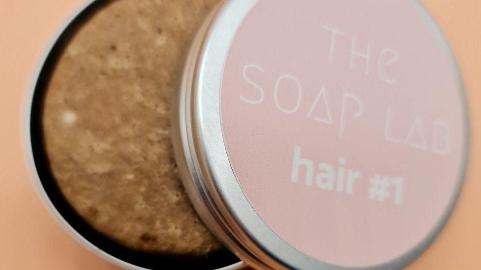 The Soap Lab hair#1 - aux protéines de soie / Cheveux secs, frisés, crépus.