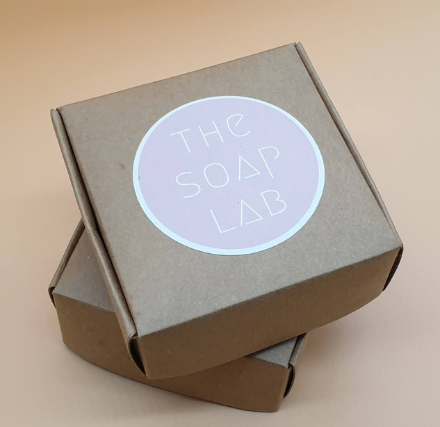 The Soap Lab emballage savons fait main