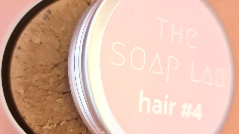The Soap Lab hair#4 - aux protéines de soie / cheveux normaux