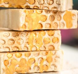 savon miel The Soap Lab sans huile de pa