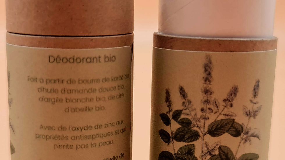 Déodorant Menthe & eucalyptus