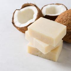 Savon coco The Soap Lab bio sans huile d