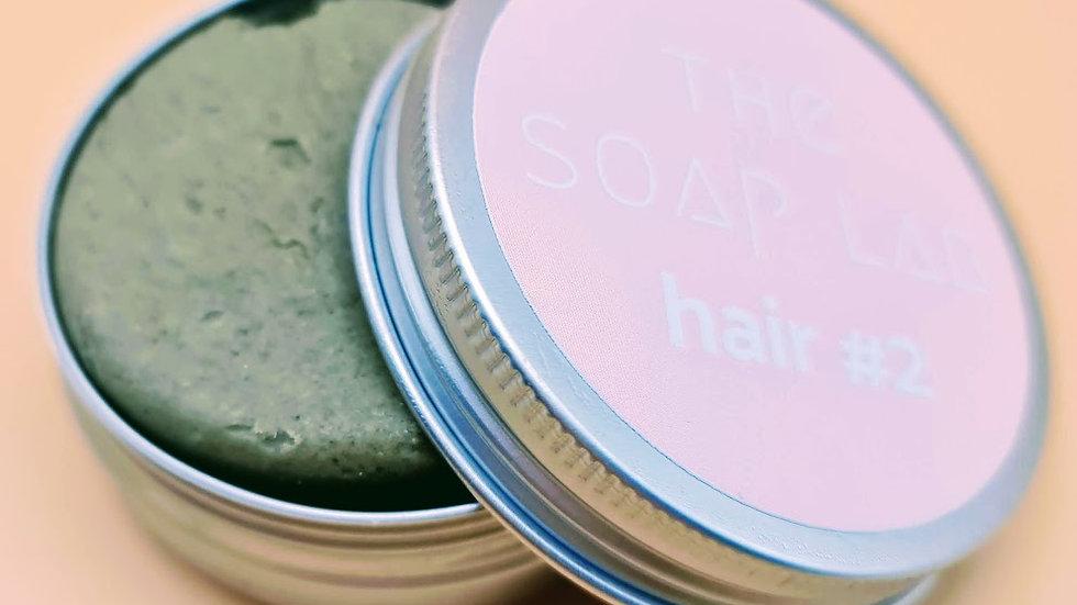 The Soap Lab hair#2 - aux protéines de soie / Cheveux gras, pellicules