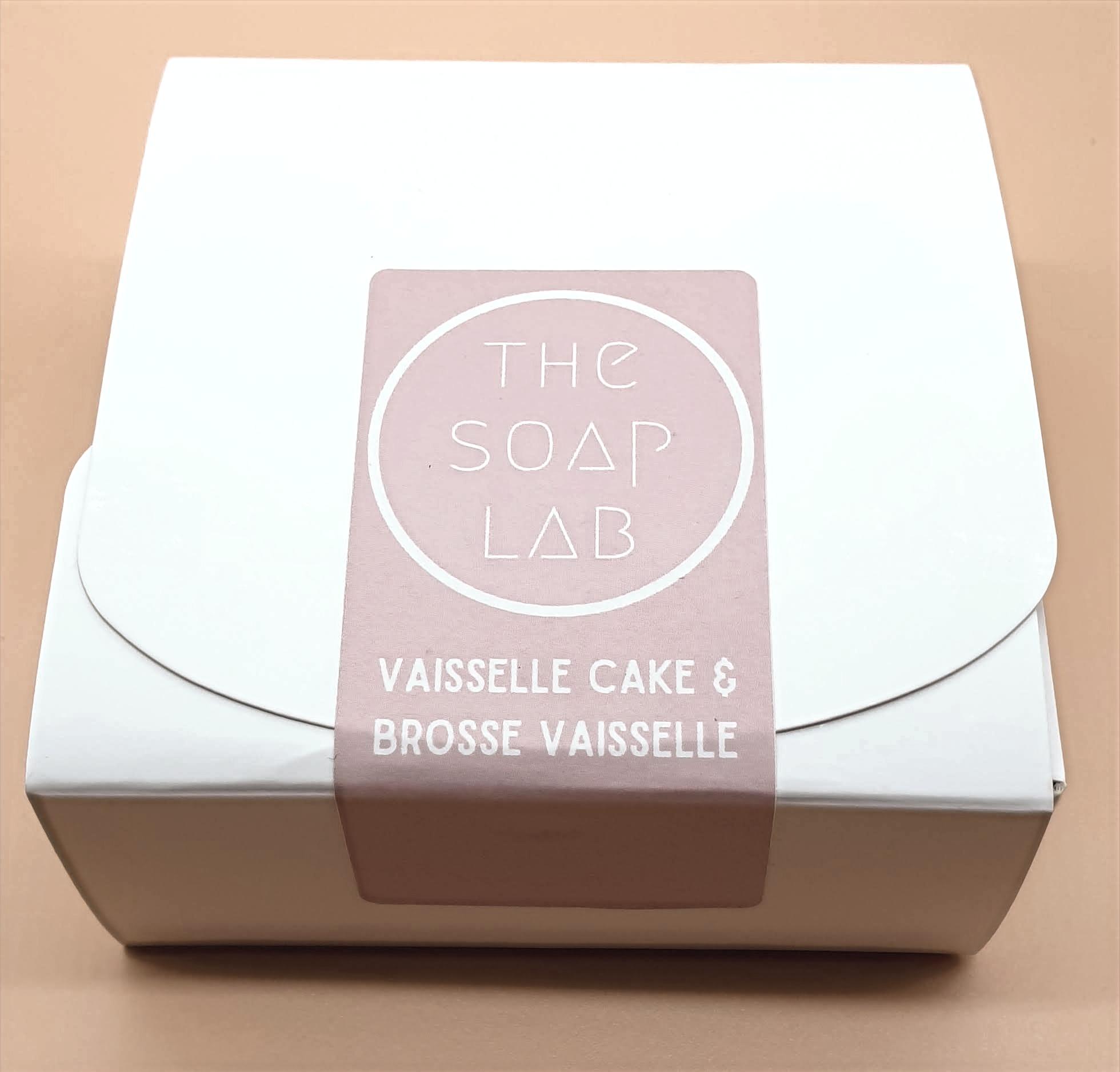 Thumbnail: Coffret vaisselle cake & brosse ou éponge