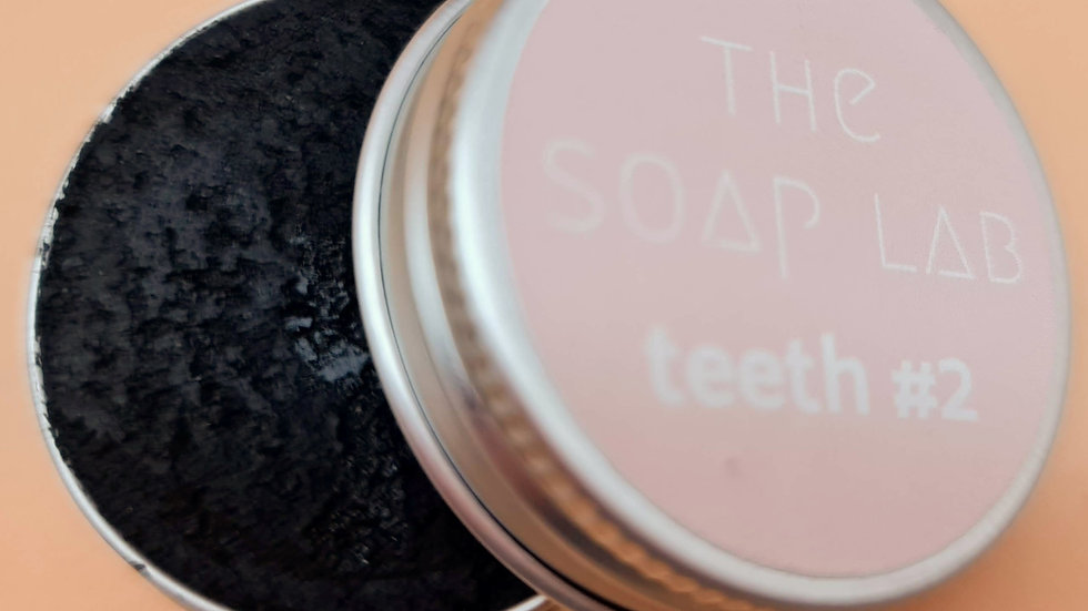 Dentifrice solide blancheur The Soap Lab teeth#2