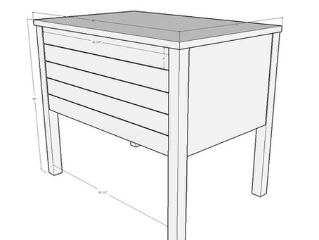 I'm Making a Flat File Cabinet for a local artist