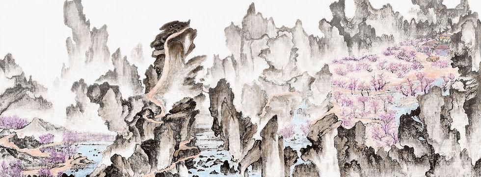 #111-몽유도원도-300x111cm-DMMC-2021.jpg