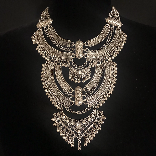 Queen Bohemian Silver Goddess