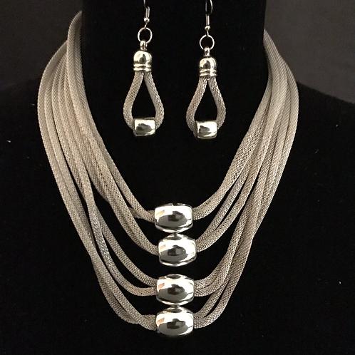 Quattour in Silver
