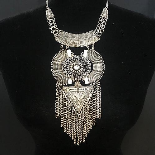 Boho Azteca in Silver