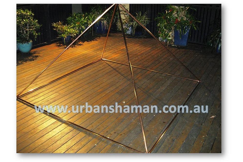 Copper Meditation Pyramid - Mechanical Fastners | urbanshaman-1