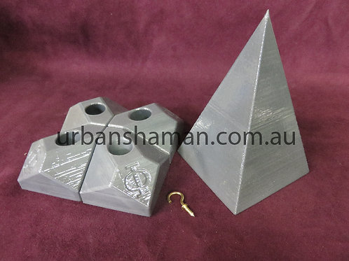 Aluminium Nubian Pyramid Connectors