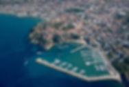 Agropoli: panorama dalla Porta Bizantina