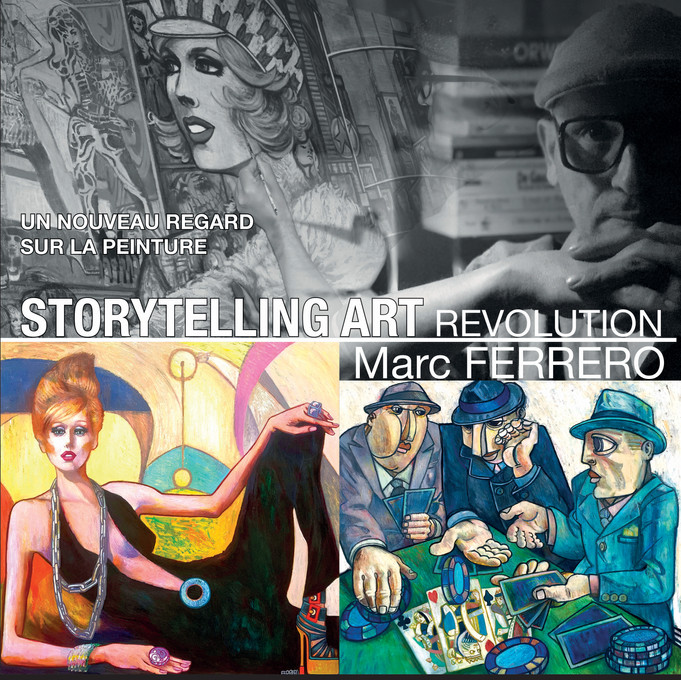 STORYTELLING ART REVOLUTION The  book (264 pages) will be available in a few days ... 100 ex numbere