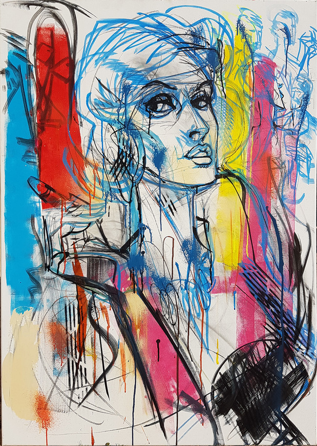 Freestyle live painting 1