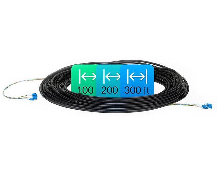 Ubiquiti Fiber Cable, Single Mode, 100'