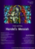 Handel's Messiah concert poster