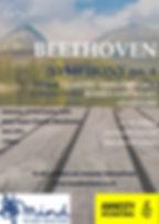Beethoven 6 concert poster