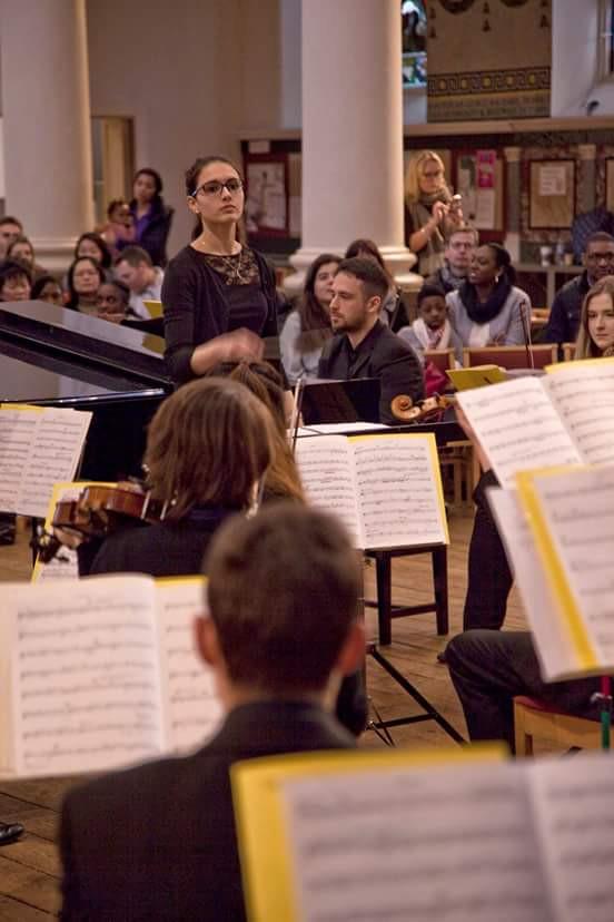 Viola section
