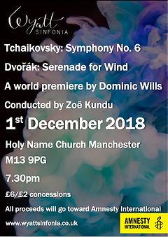 Tchaik 6 concert poster