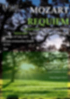 Mozart Requiem concert poster