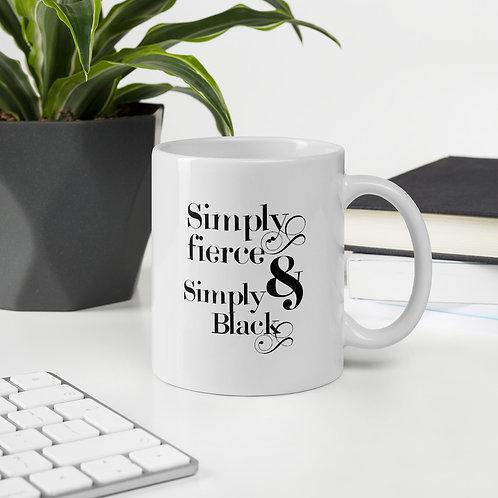 Simply Fierce & Simply Black (black font)