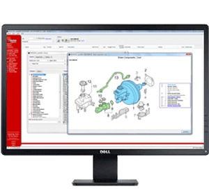 speedDIAL diagrams in computer screen