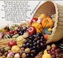 THANKSGIVING: Thanksgiving Food Sites