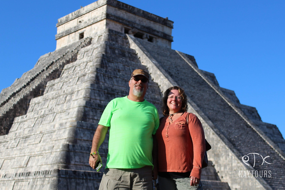 Chichen Itza Mayan Ruins in Mexico without the crowds