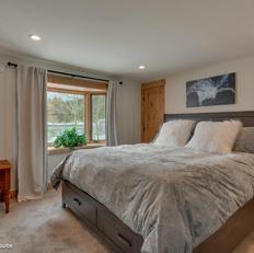 Sun-splashed Master King suite