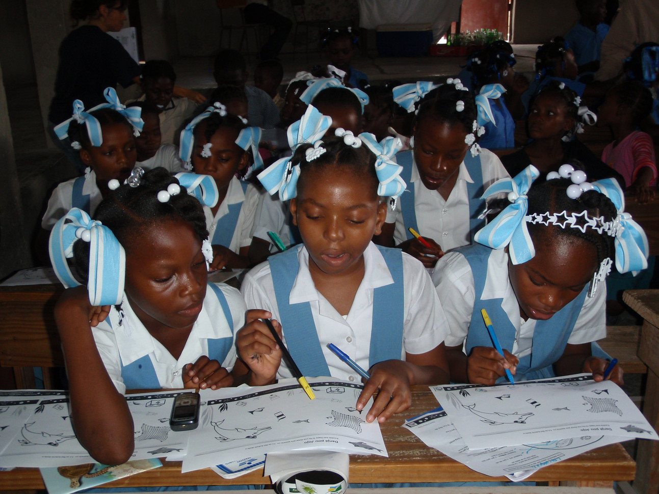 Educational activities for over 15,000 children and adults in over 40 communities.