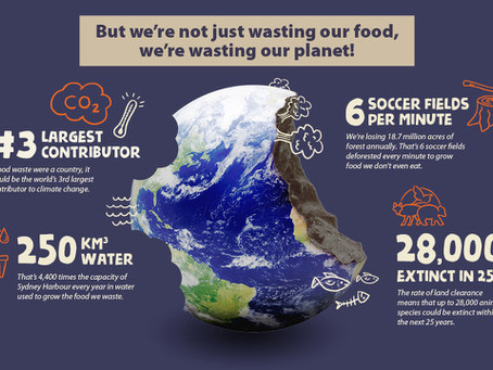 Less Food to Landfill for a more Sustainable Future!