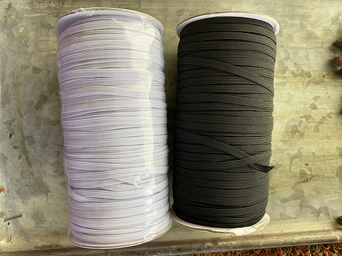 1/4 inch elastic (5mm)  - ready to ship from Colorado