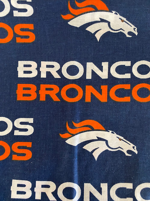 Broncos Horse reusable cloth mask, face covering, school mask, foot