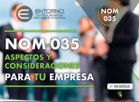 Imparte Entorno Corporativo Webinar: NOM035 en empresas de Outsourcing.