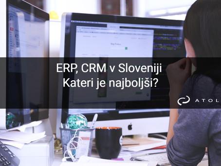 ERP, CRM v Sloveniji - kateri je najboljši?