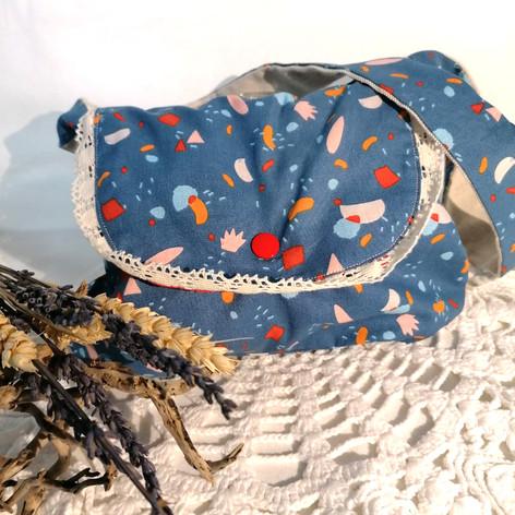 "Petite sac de fille ""bleu"""
