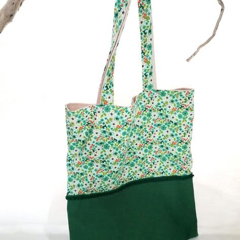"""Tote-bag """"vert"""""""