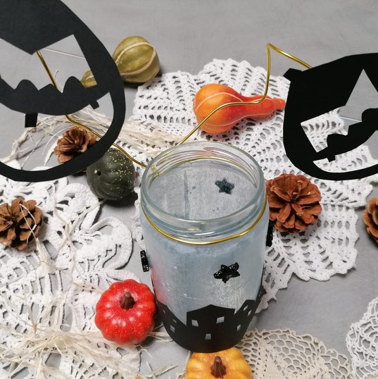 "Atelier enfant ""Photophore d'Halloween"""