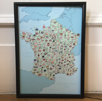 France food map