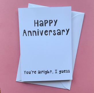Average anniversary