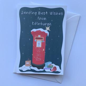 Mailing from Edinburgh