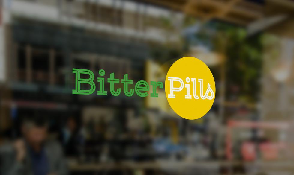 Bitter Pills logga