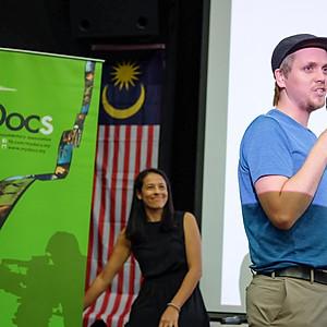 Malaysian premiere of 'Hamada' with IDFA programmer, Jasper Hokken