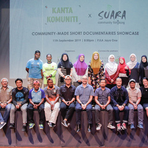 Kanta Komuniti x Suara Community-made Short Doc Showcase