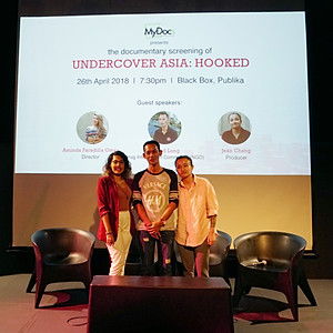 """Undercover Asia:  Hooked"" Screening"