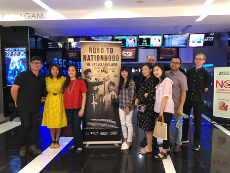 "Documentary Premiere of ""Road To Nationhood: The Undeclared War"""