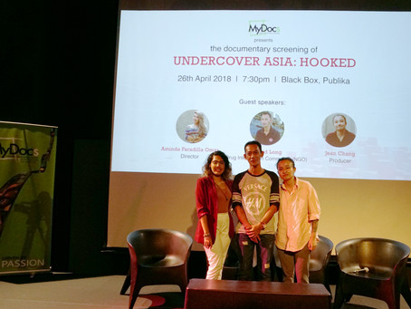 Documentary Screening of 'Undercover Asia: Hooked'