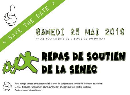 25 MAI: LE REPAS DE SOUTIEN