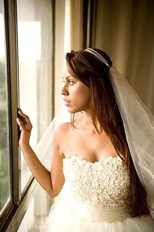 White wedding gown, Custom made Wedding gown, ready made, mumbai india